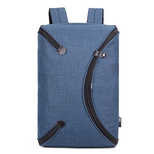 XDD Business Laptop Rucksack, passend für 14 Zoll Laptop, Slim Travel College Bookbag für Computer, School Computer Bag für Frauen & Männer, für Arbeit, Schule, Reisen, Sport, Wandern (Rucksack Bookbag)