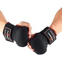 Pro Impact - Vendas para las manos, para proteger puños y muñecas (ajuste adaptable, 1 par), fáciles de usar, para boxeo, artes marciales mixtas o muay thai, S
