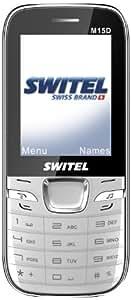 Switel M15 Téléphone portable GSM Blanc