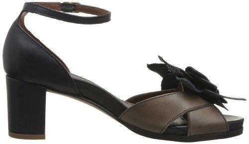 Neosens Moll 488, Sandales femme Noir (Ebony)