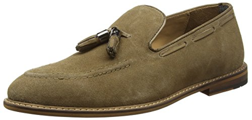 ben-sherman-mens-alfr-adler-slipper-loafers-brown-size-12