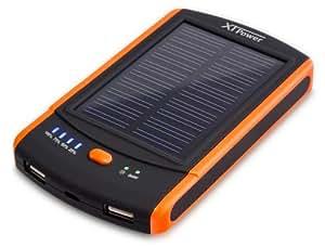 xtpower mp s6000 batterie solaire rechargeable 6000mah de secours high tech. Black Bedroom Furniture Sets. Home Design Ideas