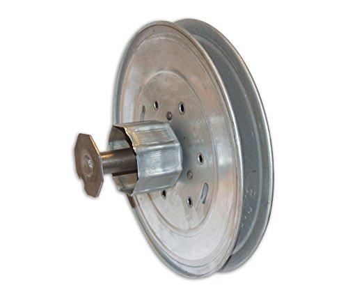 Home system - Polea, ajustable con engranaje de reducción para el rodillo de metal, para persianas