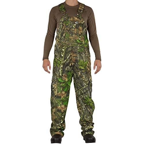 Mossy Oak Herren Jagd-Lätzchen aus Baumwolle Mill 2.0, Herren, Mo Cotton Mill 2.0 Hunt Bib, Obsession, XX-Large Camouflage-baby-bib