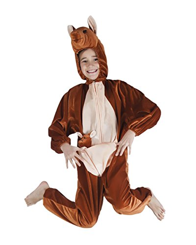 Boland 88212 Kinderkostüm Känguru aus Plüsch, (Australien Perücken Kostüme)