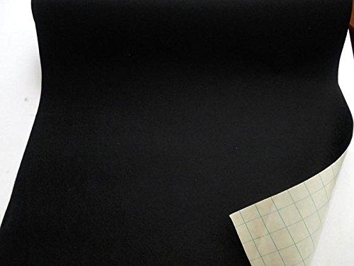 StoffBook SCHWARZ EDEL BASTELFILZ FILZSTOFF SELBSTKLEBEND KLEBEFILZ STOFF STOFFE, B734