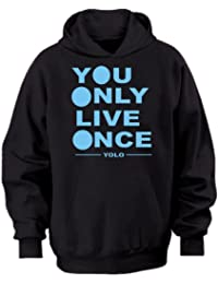 YOLO YOU ONLY LIVE ONCE ~ DRAKE YMCMB ~ LIL WAYNE HOODIE ~ MENS WOMENS