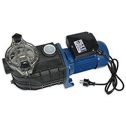Productos QP 500564M - Bomba para piscina, monofásica, 0.8 HP
