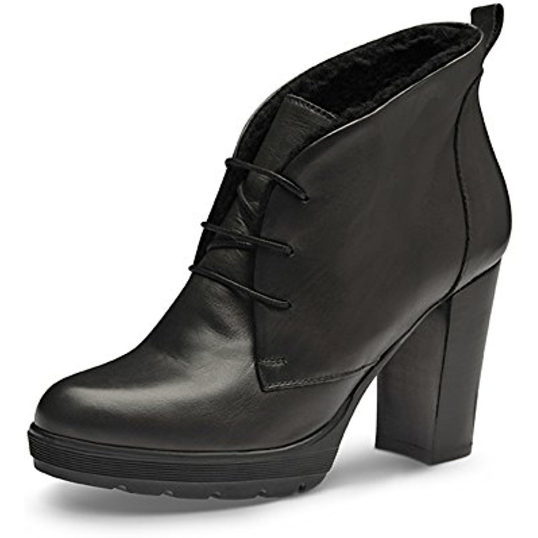 Evita Chaussures TUANA Bottines Femme Cuir Lisse Gris B016NI2BWC 37 - B016NI2BWC Gris - cefdcd
