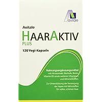 Avitale Haaraktiv Plus Vegi Kapseln, 120 Stück, 1er Pack (1 x 64 g) preisvergleich bei billige-tabletten.eu
