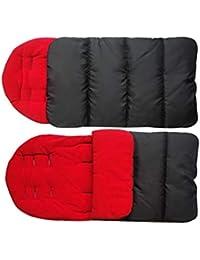 Ysmklo - Saco de dormir para cochecito de bebé, grueso, resistente al viento,