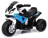 giordanoshop Moto Motocicletta Elettrica per Bambini 6V BMW Blu