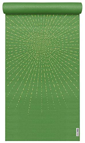 Yogistar Yogamatte Basic Art Collection Sparkling Sunray Kiwi Kiwi Collection