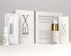 Idea Regalo - X115® | Set Bellezza - Cofanetto Regalo Donna | Crema Viso Donna 15ml + Integratore per la Pelle X115®+Plus | Trattamento Anti-età Completo