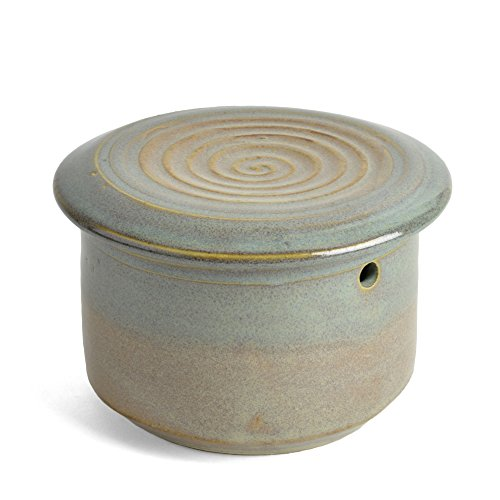 Holman Pottery Französisch Butter Keeper Ocean Spray
