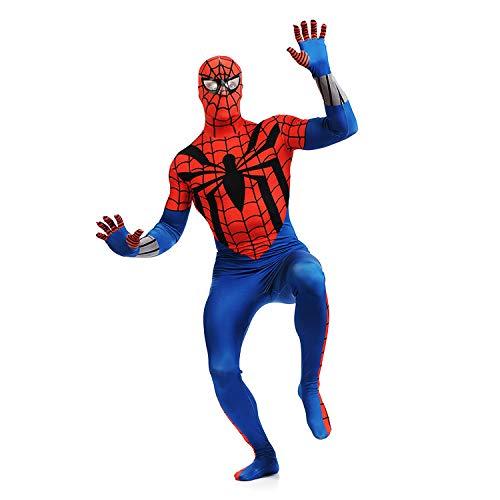 ASJUNQ Spider-Man Strumpfhosen Cosplap Bodysuit Korsetts Halloween Kostüm Ball ()