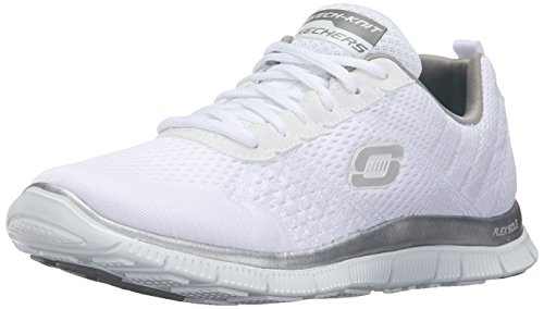 Skechers Flex Appeal - Obvious Choice, Zapatos para mujer, Blanco (Bla