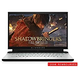 "Alienware M15, PC Portable Gamer 17,3"" Full HD Argent (Intel Core i7, 16Go de RAM, Disque Dur 1To + SSD 512Go, NVIDIA GeForce RTX 2060 6GB, Windows 10 Home) Clavier AZERTY Français"