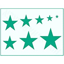 Suchergebnis Auf Amazonde Für Stern Schablone Wand