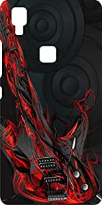Koolbug Printed Hard Back Case Cover For Vivo V3 Max