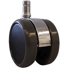 1x Set (5rollos)–Suelo ruedas para Herman Miller Aeron–Chrome