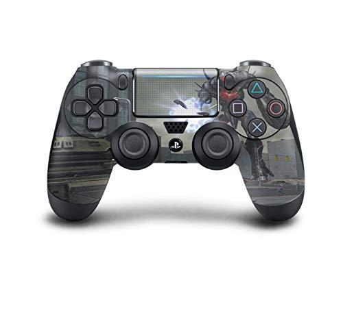 PS4 DualShock Wireless Controller Pro Konsole PlayStation4 Controller mit weichem Griff und exklusiver individueller Version Skin (PS4-Earth Defense Force 5) Dream-team-bundle