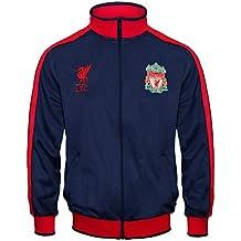 Liverpool FC - Chaqueta de entrenamiento oficial - Para niño - Estilo retro 525f7b72206c3