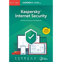 Kaspersky Internet Security 2019 | 1 Device | 1 Year | PC/Mac/Android | Online Code