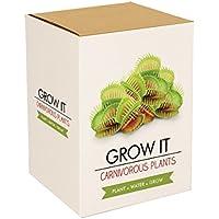 Gift Republic - Grow It, Set da regalo per coltivare piante carnivore