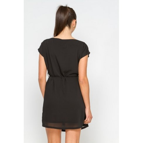 Princesse boutique - Robe noire ornée de perles Noir