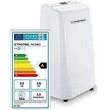 TROTEC PAC 3500 E Climatizzatore Portatile a 12000 Btu, Condizionatore D'Aria Locale Monoblocco da 3,5 Kw, EEK A, 3in1: climatizzatizzare, ventilare, deumidificare
