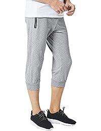 NPRADLA Pantalon de Jogging en Coton décontracté pour Hommes en Coton  Patchwork Pants Printemps éTé 8daf4c7c819