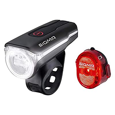 Sigma Sport LED Beleuchtungs-Set Aura 60 0