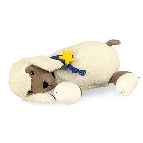 Sterntaler Schlaf-gut Figur Stanley (DE 34407560) mit integriertem Herztonmodul, Alter: Für Babys ab der Geburt, 30 cm, Weiß