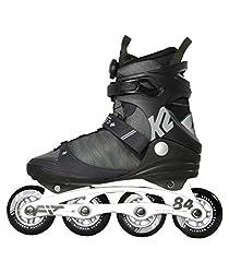 K2 Herren F.I.T. 84 Speed Boa Skateboardschuhe Grau (Gray/Green 001) 44 EU