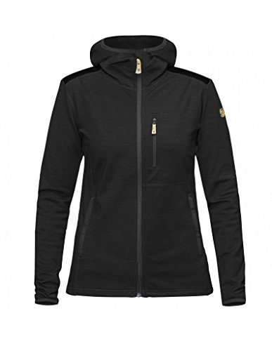 Fjällräven Damen Keb Fleece Hoodie W Fleecejacke, Dark Grey, M