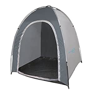 Bo-Camp Abris de camping BC Tente de stockage Medium Grey
