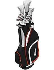 Wilson 2017 Ladies X31 High Launch Technology Womens Golf Package Set Graphite/Steel Right Hand(Standard Length)