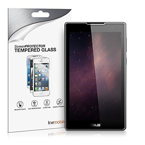kwmobile Protection écran en Verre Trempé Asus ZenPad C 7.0 (Z170C / Z170CG) transparent. Qualité supérieure