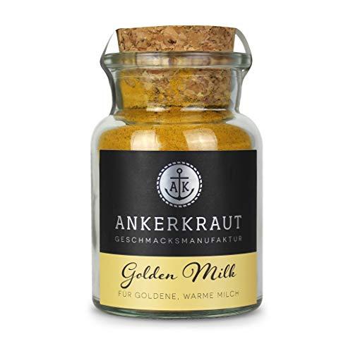 Ankerkraut Golden Milk Gewürz, 75g im Korkgenglas, Wunderwaffe in der Heilkunst