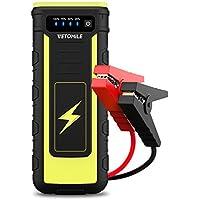 VETOMILE Jump Starter 21000mAh 800A Peak Démarreur de Voiture Booster Batterie Portable Alimentation Eléctrique d'Urgence pour Voiture Camion Moto Bateau Automobile avec LED Flashlight