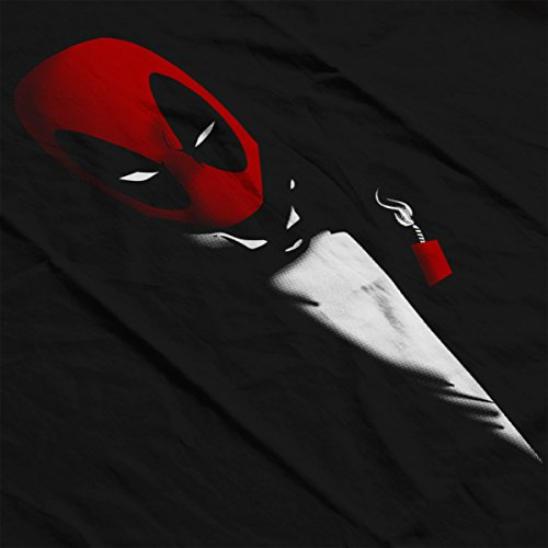 Deadpool The Mercenary Women's T-Shirt Black