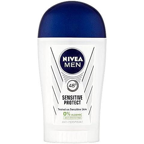 Nivea Los Hombres Sensibles Y Protegen Desodorante En Barra (40ml)