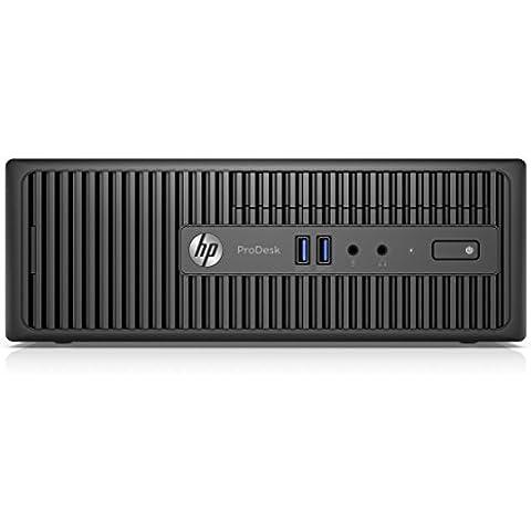 HP ProDesk 400 G3 SFF 3.2GHz i5-6500 SFF Negro - Ordenador de sobremesa (i5-6500, SFF, 64 bits, SSD, Intel Core i5-6xxx, DVD Super