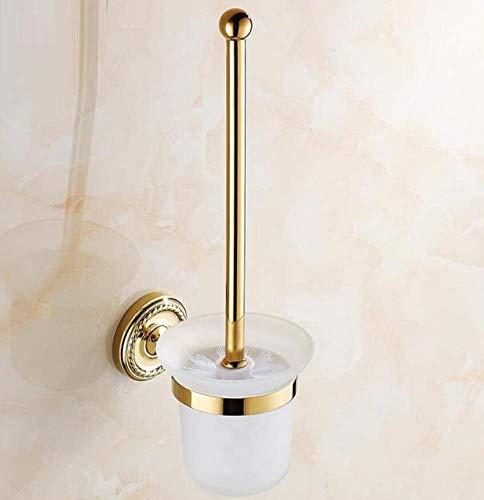 Einweg-wc-reiniger (QiXian Alle Bronze Vintage Wc-Bürstenhalter Wandmontage-Bad-Accessoires Wc-Bürstenhalter für Toilettenschüssel Reiniger DREI Farben Optional379.57Cm Stark Robust)