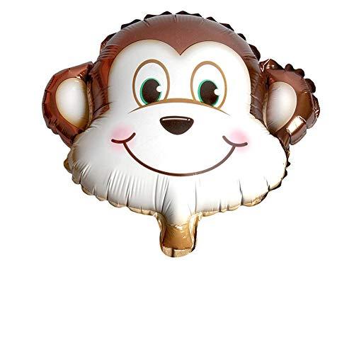 Kleine Tier-Digitalaluminiumballon-niedlicher Karikatur-Ballon der Nette und schöne Tierballon für Kindergeburtstags-Dekoration oder andere Festivals Monkey (Float Inflator)