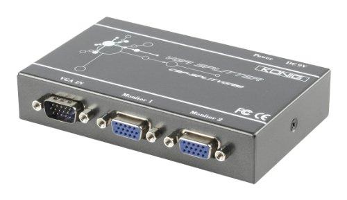 König Professioneller VGA-Splitter mit 2 Anschlüssen