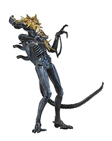 Battle Damaged Alien Warrior Blue (Aliens Series 12) Action Figure [Import Anglais]