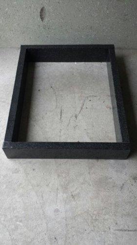 Tombe Bordure bordure tombale Urne funéraire 80 cm x 80 cm hauteur 15 cm Épaisseur 6 cm