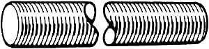 Zoro Tools–Stahl Stäbe roscadas M12DIN976–1A 12,9x 1000mm 5Stk